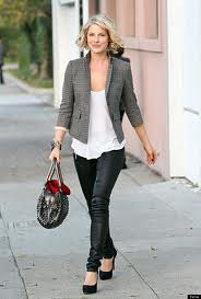 Ali Larter Tweed Jacket Celebrity Style Women's Fashion