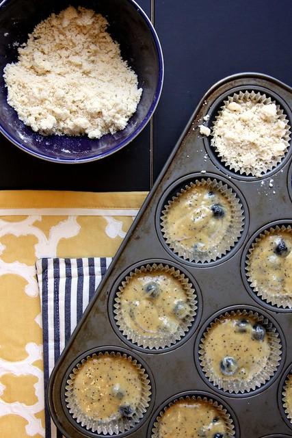 Lemon Blueberry Poppy Seed Muffins | Joy the Baker