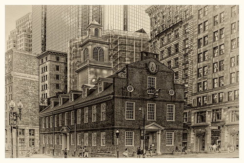 Boston MA - The Old State House 02