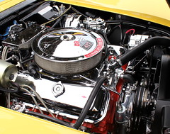 Corvette Stingray Engine on The Chevy Corvette Stingray Concept Car Of 2009   A Set On Flickr