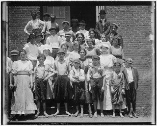 A typical group of workers in the Aragon Mills. Rock Hill, S.C., May 1912