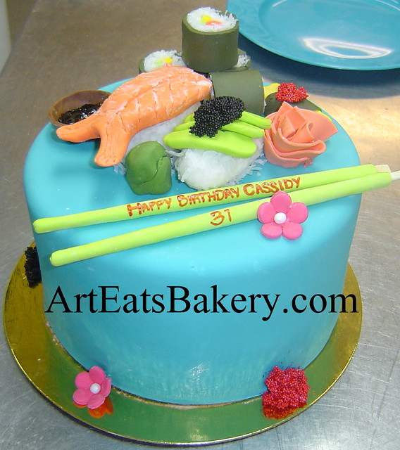 Sushi Birthday Cake Creative Idea Picture Flickr Photo Sharing