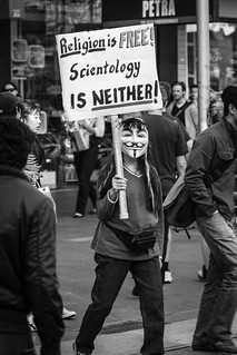 Anti Scientology Protest #4