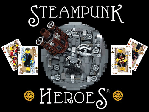Steampunk Heroes© Custom Playing Card Deck coming to KICKSTARTER next week!