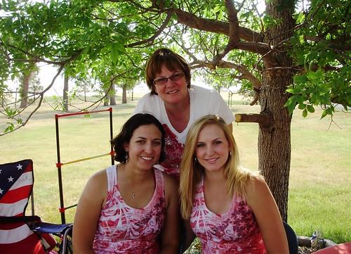 Ashley, Mom and I