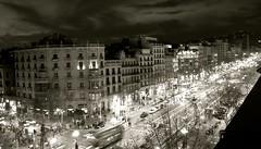 バルセロナ街頭