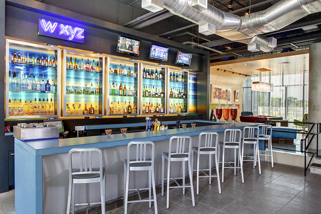 Aloft San Antonio Airport Wxyz Bar Flickr Photo Sharing