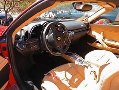 automobile, vehicle, performance car, automotive design, steering wheel, ferrari s.p.a., land vehicle, luxury vehicle, supercar,