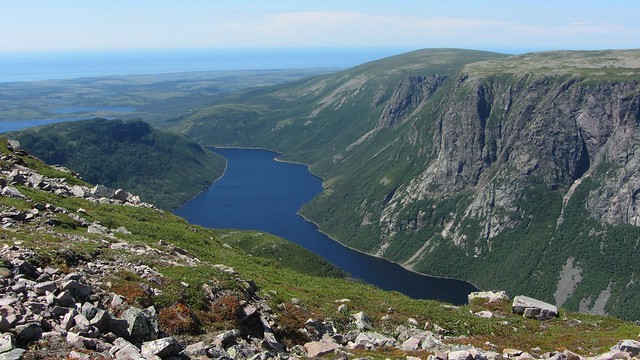 Ten Mile Pond From Gros Morne