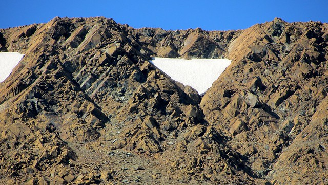 Triangular Rocks and Snow