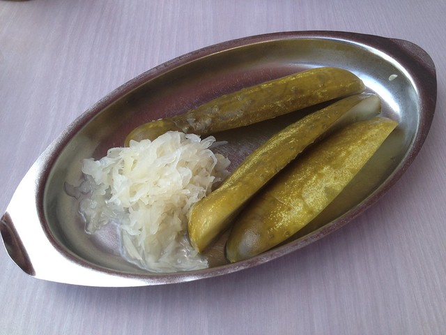 Pickles and sauerkraut - Sherman's Deli and Bakery