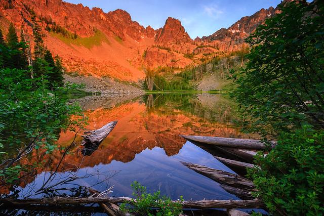 Sunrise at Lower Cannon Lake