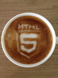 Today's latte, HTML5