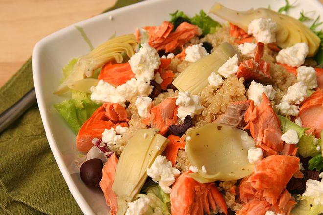 mediterranean salmon salad 6