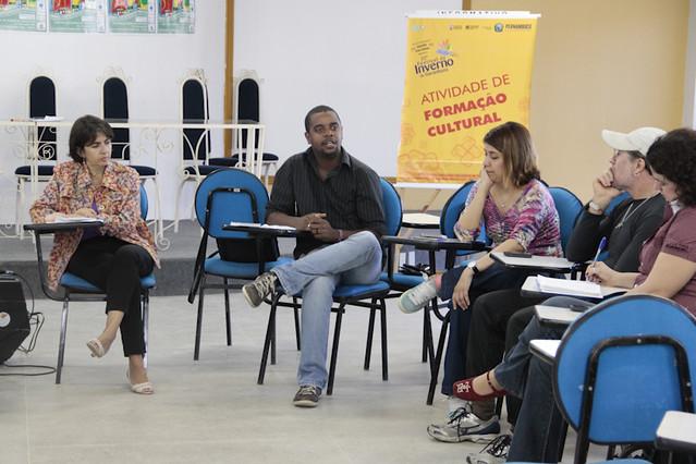 Paulo Melo, do Intervozes, falou da importância da luta pelo fim da censura midiática. | Foto: Olívia Leite