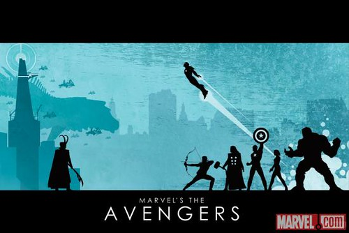 SDCC Avengers DVD Pre-order Poster