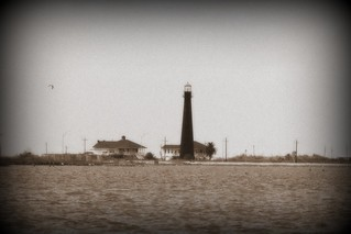 Light House Near Galveston