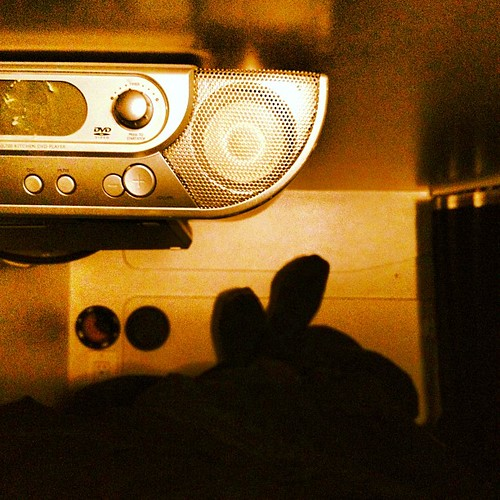 Good night! from the bunk. @ 70 Mph