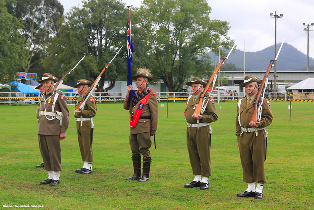 Dad's Army - Stroud, NSW - Brick and Rolling Pin Throwing Festival 21st July 2010