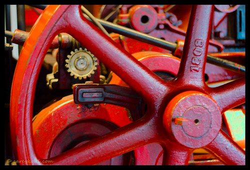 Steam Traction Engine by Carey 1964