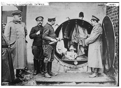 Doberitz -- disinfecting clothing  (LOC)