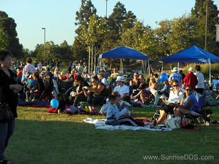 Concert goers at the 2012 Summer Concert Series