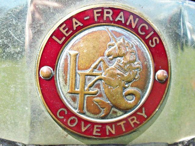 251 Lea Francis Badge
