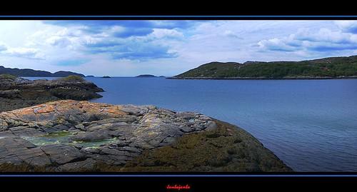 sea panorama seascape landscape scotland highlands mare sutherland lochinver scozia assynt grandemaregroup jambojambo samsungwp10 lochaninbhir