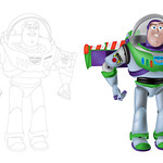 Buzz Lightyear Technical Drawing