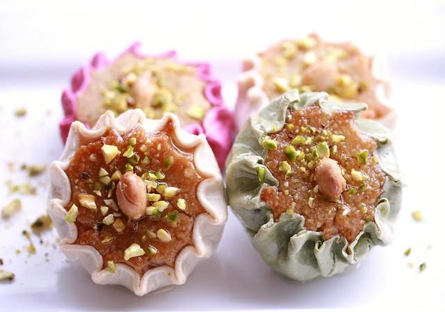 Algerian Almond Tartlets (Dziriettes)