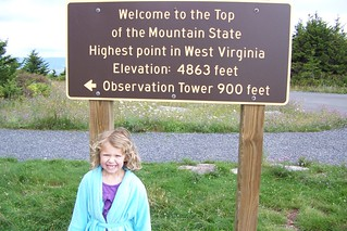 Highest Pt in WV