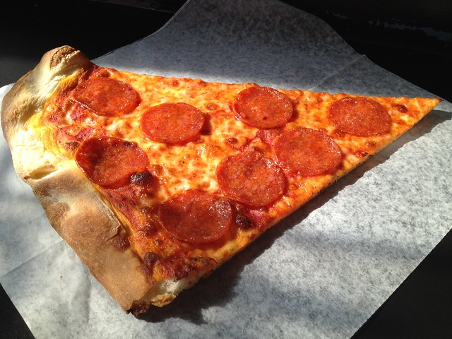 Pepperoni slice - Arinell Pizza