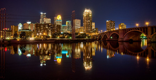 Minneapolis Reflection