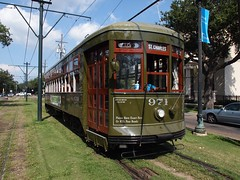 Old cable train of New Orleans (Louisiana, USA 2012)
