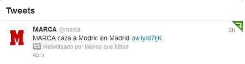 Montaje Modric Twitter Marca