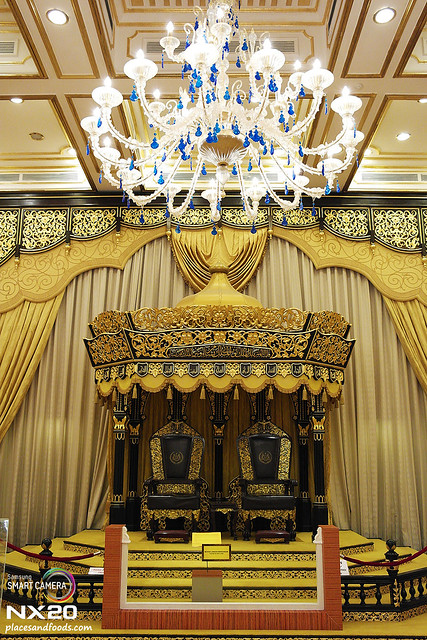 Throne of Old Royal palace of Malaysia