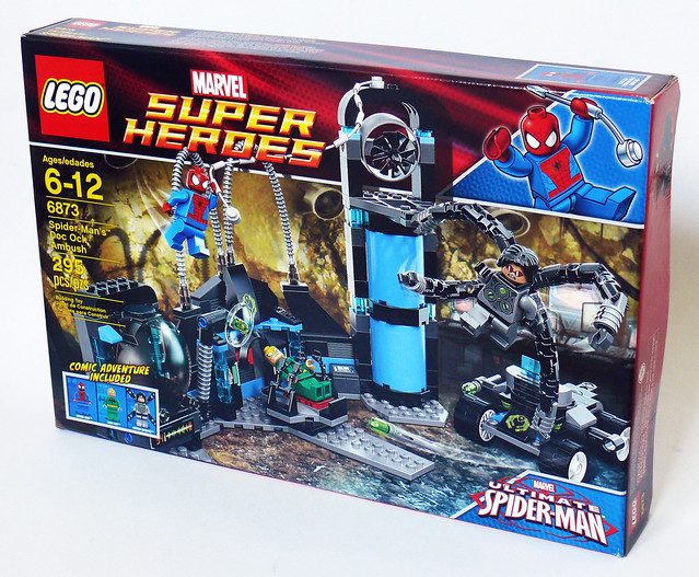 Hair piece from set 6873 Super Heroes Spider-Man BRAND NEW Lego Doc Ock Head
