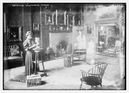 Catherine Wentworth studio (LOC)