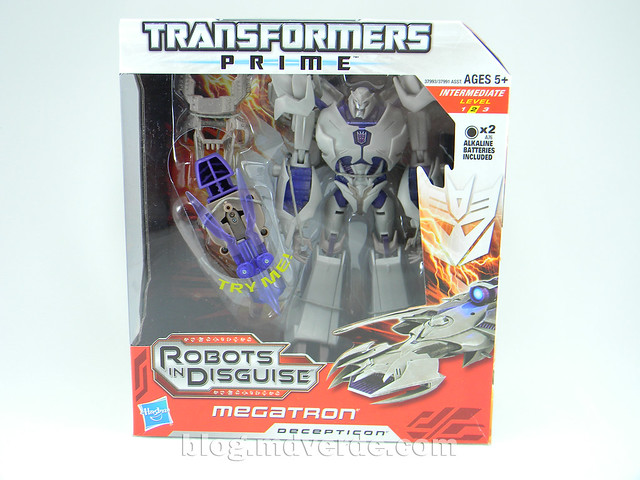Transformers Megatron Voyager - Prime RID - caja