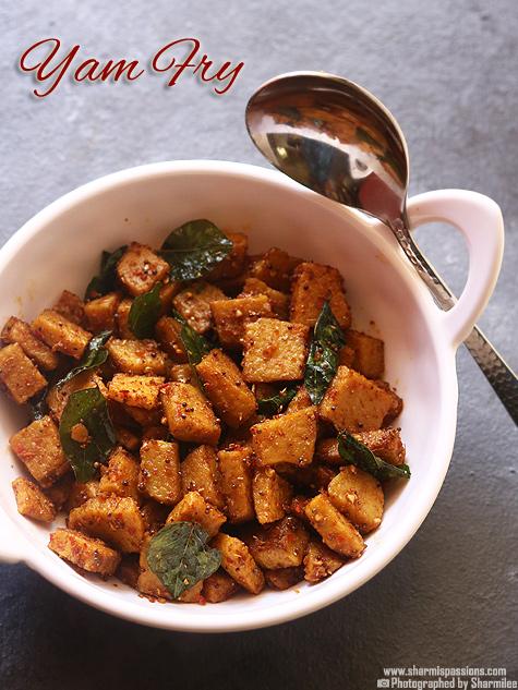 yam fry recipe