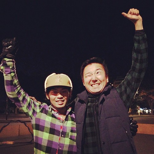 Winner! Genki & Tatsuya, 2:12.