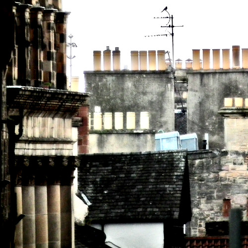 Edinburgh chimneys by moclaydon
