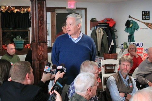 Mike Michaud Delivers Victory Speech
