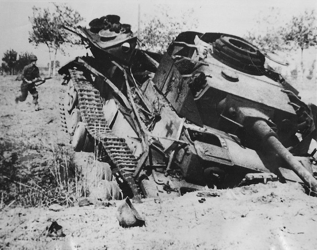German Tank Wrecks http://www.flickr.com/photos/kruegerrossi/8164506538/