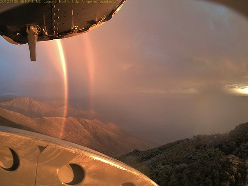 Daybreak rainbows and rain squall     08-Nov-2012 06:10 AM PST