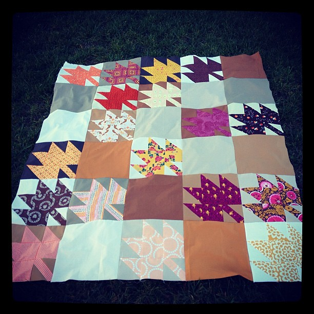 Modern maples top complete!!!! Any quilting suggestions? #modernmaples