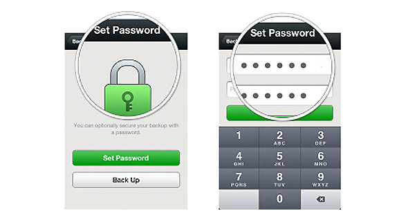 WeChat Backup Password
