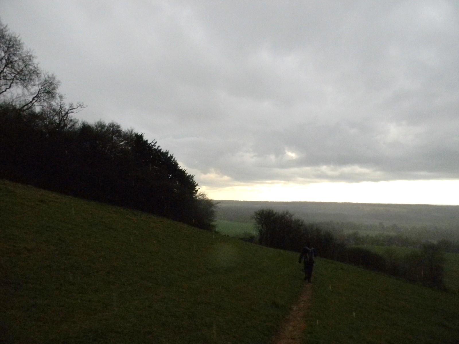 Rejoining the NDW Lenham to Hollingbourne