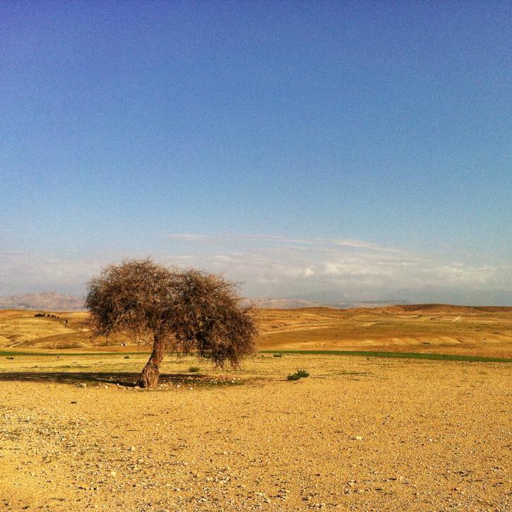 Näkymiä Agafayn autiomaasta