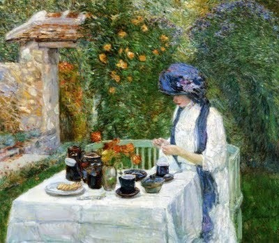 A French Tea Garden